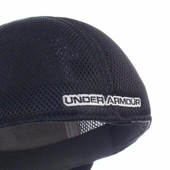 Under Armour หมวกกอล์ฟ Under Armour Men's Mesh Stretch 2.0 Golf Hat 1273280-001 (Black) - 4