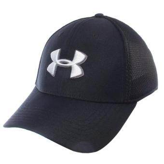 Under Armour หมวกกอล์ฟ Under Armour Men's Mesh Stretch 2.0 Golf Hat 1273280-001 (Black)