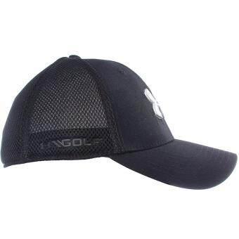 Under Armour หมวกกอล์ฟ Under Armour Men's Mesh Stretch 2.0 Golf Hat 1273280-001 (Black) - 2