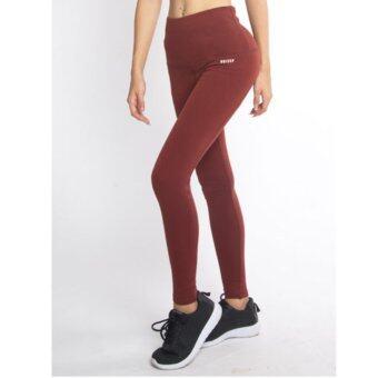 ซื้อ/ขาย UNIZEP กางเกงออกกำลังกาย 7/8 High Waist Nicolite Pant รุ่น 6213 สีน้ำตาลแดง
