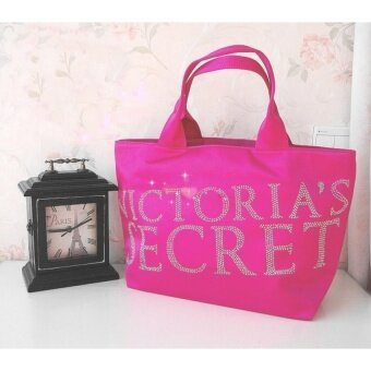 Harga Victoria's Secret Bling Diamond Drill Tote - intl