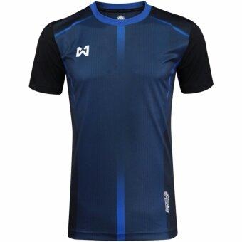 WARRIX SPORT เสื้อ WA-1546-DA (สีกรมท่า-ดำ)