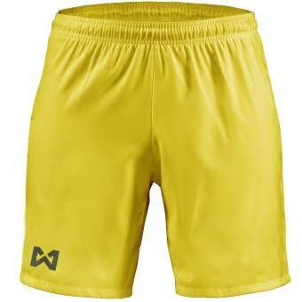 WARRIX SPORT กางเกงฟุตบอลเบสิค WP-1505 สีเหลือง