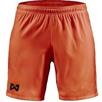 WARRIX SPORT กางเกงฟุตบอลเบสิค WP-1505 สีส้ม