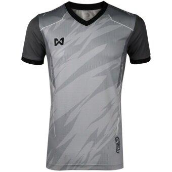 WARRIX เสื้อ WA-1550-EE (สีเทาอ่อน-เทาเข้ม)