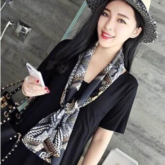 Women's Fashion New Scarf Professional Business Scarf - SimilarLeopard - intl