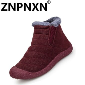 ZNPNXN Fashion Autumn And Winter New Women'S Cotton Shoes Omen'SCasual Shoes (Red) - intl
