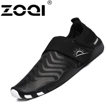 Harga ZOQI Fashion Surfing Shoes Outdoor Swimming Water SportShoes(black) - intl