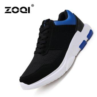 Harga ZOQI Soft Bottom Running Shoes Fashion Sneaker(Blue) - intl