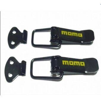 กิ๊ฟล็อคกันชน ตัวยึดกันชน กิ๊บล็อคกันชน ใส่ได้กับรถทุกรุ่น สีดำ-1 momo (BLACK)