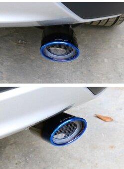 12-16, Honda CRV?2.0L?, special tail pipes, exhaust muffler (Blue) - intl รูบที่ 3