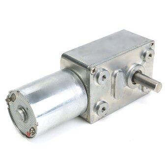 12V 10Rpm Reversible High Torque Turbo Worm Geared Motor DC Motor JGY370 - intl