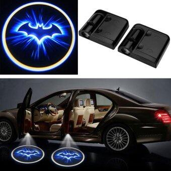 2pcs LED Car Door Welcome Projector Batman Pattern Courtesy GhostShadow Light