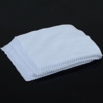 2PCS Microfiber Cleaning Cloth For Camera Cell Phone Tablet Screens\nGlasses Lens - intl