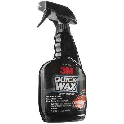 3M Quick Wax Spray Detailer Nano coating สเปรย์เคลือบสีรถยนต์สำหรับรถโชว์