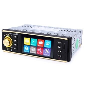 4019B 4.1 inch Vehicle-mounted MP5 Player Stereo Audio Car Video FM Radio with Camera Remote Control - intl