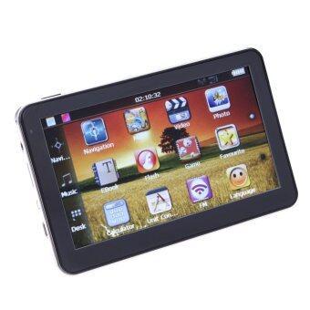 5 / Inch Car GPS Navigation Sat Nav 4GB FM Transmitter BundleEurope - Intl - intl