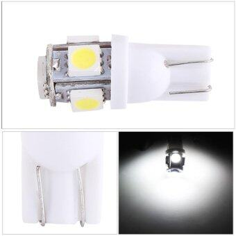 50 x 5-SMD T10 5050 LED Car Light Bulbs Chipset Technology White - intl