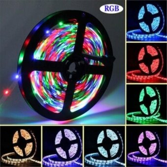 5M RGB Waterproof LED Light Strip SMD5050 300 lights + 44Key IRRemote Controller - intl
