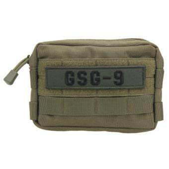 600D Tactical Military Molle Utility Accessory Magazine Pouch Bag(Green) - intl