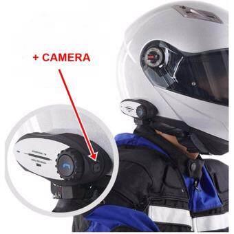 ประกาศขาย บลูทูธ ติด หมวกกันน็อค มอเตอร์ไซด์ พร้อม กล้องบันทึกวิดีโอ อัดลงเมมภาพคมชัดระดับ 720P
