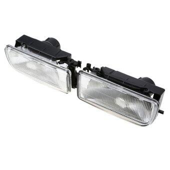 Harga A Pair Flower Pattern Car Front Bumper Fog Lights For BMW E36 3Series 1990-2000 - intl
