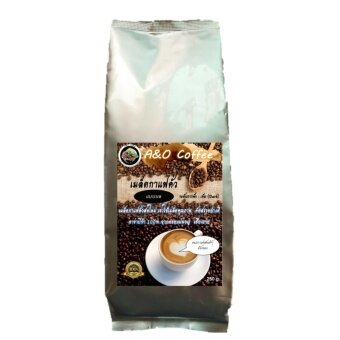 A&O coffee เมล็ดกาแฟสดอาราบิกา 100 % คั่วหอมเกรด AA แบบบด (250 กรัม) (image 4)