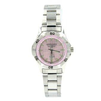 ต้องการขาย America Eagle นาฬิกาข้อมือผู้หญิง สายสแตนเลส รุ่น Lucky 2142L หน้าปัดสีชมพู