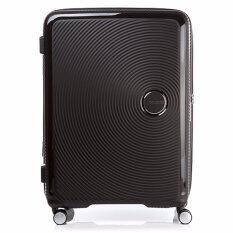 American Tourister กระเป๋าเดินทาง รุ่น CURIO SPINNER 69/25 EXP TSA สี BLACK