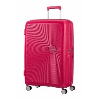 American Tourister กระเป๋าเดินทาง รุ่น CURIO SPINNER 80/30นิ้ว EXP TSA สี PINK