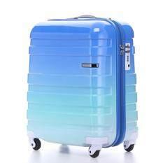 "American Tourister กระเป๋าเดินทางรุ่น HS MV+ Deluxe ขนาด 18""  สี GRADIENT BLUE"