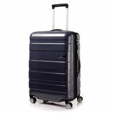 "American Tourister กระเป๋าเดินทางรุ่น HS MV+ Deluxe ขนาด 25""  EXP สี NAVY/CHECKS"