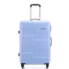 American Tourister กระเป๋าเดินทางรุ่น PUZZLE CUBE   SPINNER 68/25 (25นิ้ว) สี MATTE ICE BLUE(จัดส่งเร็ว)