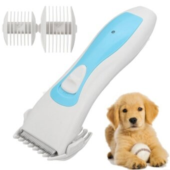 Animal Pet Dog Cat Hair Cutting Trimmer Shaver Razor Grooming Clipper Shaver - intl