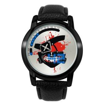 'Anime LED Touching Screen Waterproof 100M Boys'' FashionWatches(Color:Ghoul Mask) - intl'