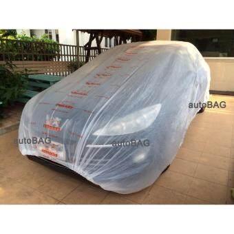 พลาสติกคลุมรถ autoBAG SIZE XL เหมาะสำหรับ (CAMRY / ACCORD / TEANA / BENZ E CLASS / VOLVO S70 )
