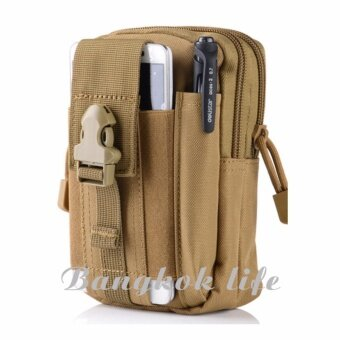 Bangkok life Men's Outdoor Camping Bag Hiking Pouch Military Army Waist Pack with Belt Loop BL064