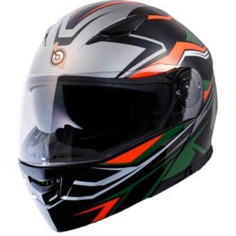 หมวกกันน็อก หมวกกันน็อค หมวกกันน๊อก หมวกกันน๊อค Bilmola Explorer R FLASHER GREEN (Big Bike and motorcycle Helmet)