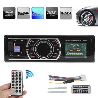 Bluetooth V2.0 Car Audio Stereo Autoradio Car Radio 12V In-dash 1Din FM Radio - intl