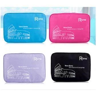 boonsiri shop กระเป๋าจัดระเบียบอุปกรณ์อาบน้ำและเครื่องสำอาง(สีดำ) - 2