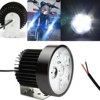 Bright Motorcycle Headlight 6 LED Driving Fog Light Lamp
