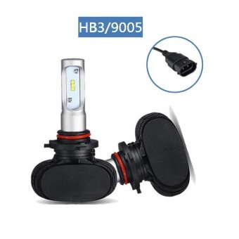 Car Headlight H4 H7 H11 HB3/9005 HB4/9006 Auto LED Bulb Headlamp (1Pair HB3/9005) - intl