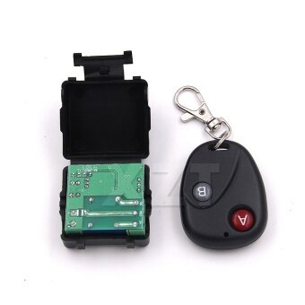Car Remote Wireless Universal Remote Control DC 12V Button RF switch system 433MHz Telecomando Transmitter Receiver - intl