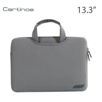 ต้องการขาย Cartinoe กระเป๋าโน๊ตบุ๊ค Notebook กระเป๋าถือ แฟชั่น สวยๆ น่ารัก ใส่เอกสาร ราคาถูก ใส่โน๊ตบุ๊ค 12 นิ้ว Macbook 13.3 นิ้ว สีเทา
