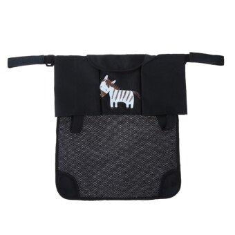 Cartoon Zebra Baby Pram Stroller Storage Bag Diapers Bottles Organizer Bag - intl ...
