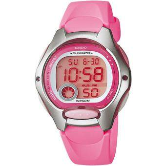 Casio นาฬิกาข้อมือ แบตเตอรี่ 10 ปี สายเรซิน รุ่น LW-200-4B
