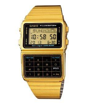 Casio Databank รุ่น DBC-611G-1A (สีทอง)