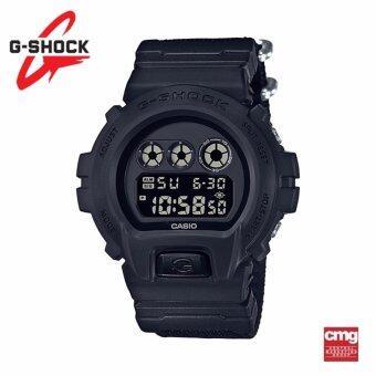 ราคา Casio G-Shock นาฬิกา DW-6900BBN-1DR ประกันศูนย์ CMG (Black)