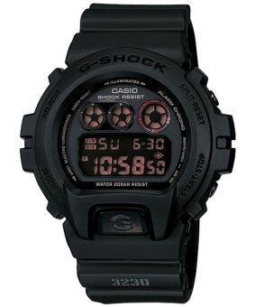 Casio G-Shock นาฬิกาข้อมือผู้ชาย สีดำด้าน สายเรซิ่น รุ่น DW-6900MS-1DR