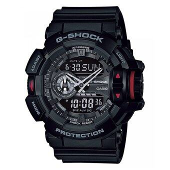 Casio G-Shock นาฬิกาข้อมือผู้ชาย สายเรซิน รุ่น Ga-400-1Bdr (Black)